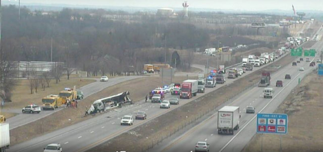 Kansas City Tractor-Trailer Accident