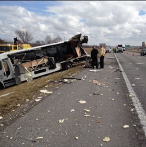 Tractor-trailer accident Kansas City MO