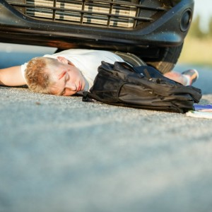 pedestrian accident involving boy