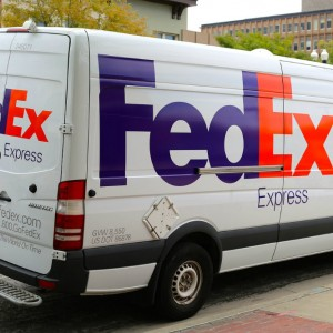Delivery Truck Federal Express