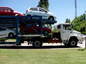 Trailer tractor cargo