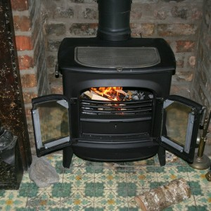 Wood burning stove_carbon monoxide