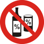 No alcohol for water safety