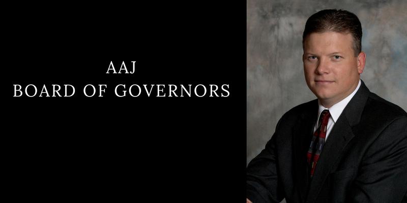 Brian Franciskato, AAJ Board of Governors