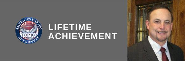 Randy W. James, Lifetime Achievement, America's Top 100 Attorneys®