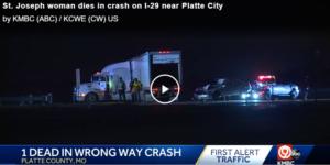 I-29 wrong-way truck crash