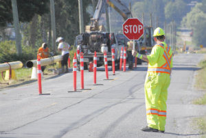 Construction Work zone safety