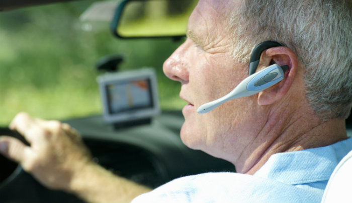 Hands Free Device while driving