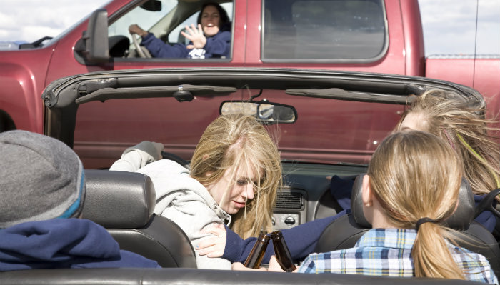 How Many Teen Passengers is Too Many?