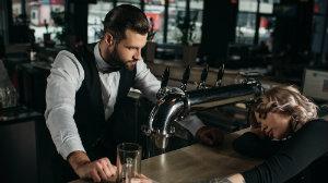 Intoxicated Person at Bar