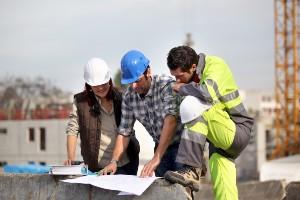 Construction site, dangerous workspaces, Injuries, defective equipment, human error,