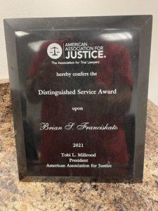 Brian Franciskato, Nash & Franciskato, Law Firm, Kansas City Law Firm, Nash & Franciskato, AAJ, American Association of Justice,